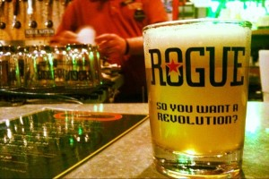 Rogue Beer Sample