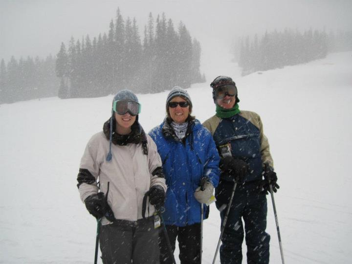 My family at Sun Peaks Resort
