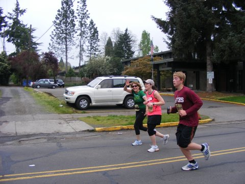 Running the Eugene Marathon